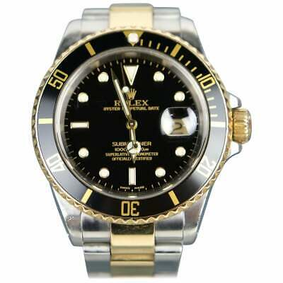 $ CDN19656 • Buy Rolex Submariner Date 16613 18K Gold And Stainless Steel Automatic Wristwatch