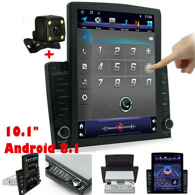 $221.30 • Buy 1DIN Android 8.1 10.1in Quad-Core Car Player Stereo Radio GPS Wifi Mirror Link
