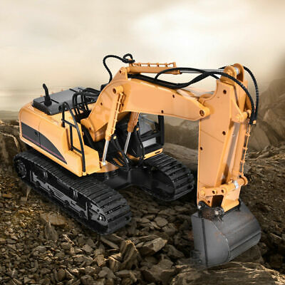 RC Excavator 1:14 2.4GHz 15-Channel Remote Control Digger Toy Excavator Toy Y • 55.99£
