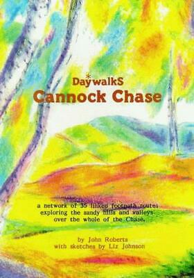 Daywalks: Cannock Chase By Roberts, John, Good Used Book (Paperback) FREE & FAST • 2.25£