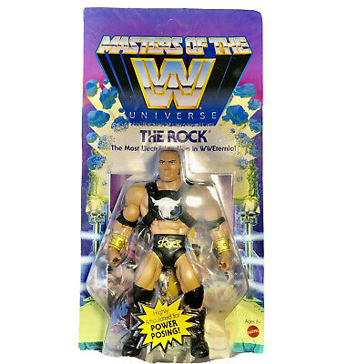 $21.49 • Buy The ROCK WWE Masters Of The Universe Action Figure MOTU 2020 NEW Wave 3 *seepics
