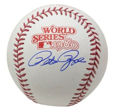 $ CDN132.04 • Buy Pete Rose Signed Phillies 1980 World Series Baseball JSA ITP