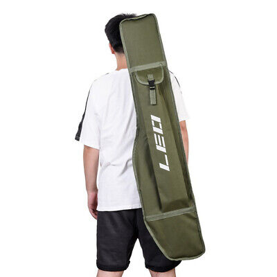 AU20.13 • Buy Fishing Rod Tube Cover Pole Tackle Gear Shoulder Foldable Bag 1.2m