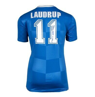 £245.99 • Buy Brian Laudrup Signed Rangers Shirt - Number 11 Autograph Jersey