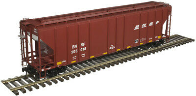$ CDN114.67 • Buy Atlas O Scale PS-4427 Low-Side Covered Hopper (2-Rail) BNSF Railway #305018