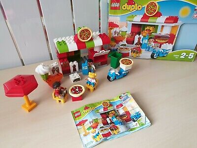 Lego Duplo My Town 10834 Pizzeria Pizza Shop Play Set Complete & Boxed • 32£
