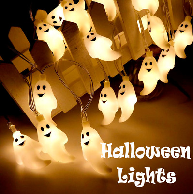$ CDN22.82 • Buy Halloween Ghost LED Party Lights Indoor Outdoor Hanging Decoration Free Shipping