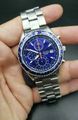 $ CDN126.67 • Buy SEIKO Seiko CHRONOGRAPH 100M 7T92-0CF0 17cm Analog Watch Working Used