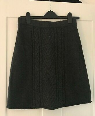 £16 • Buy Hatley A-Line Cable Knit Skirt XS