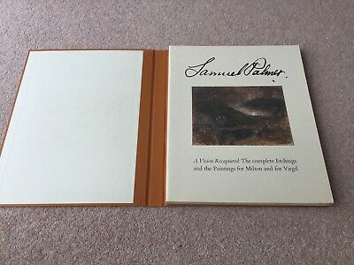 Samuel Palmer A Vision Recaptured Limited Edition 1978 Exhibition Commemorative • 17.99£