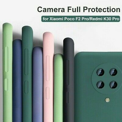 AU3.92 • Buy For Xiaomi POCO F2 Pro Luxury Shockproof Silicone Rubber Soft TPU Cover Case