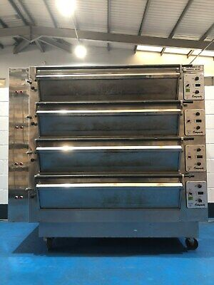 Tom Chandley 4 Deck 12 Tray High Crown Oven Mk4 • 5,950£