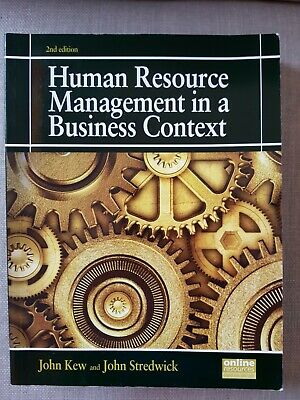 Human Resource Management In A Business Context, 2nd Edition • 14£