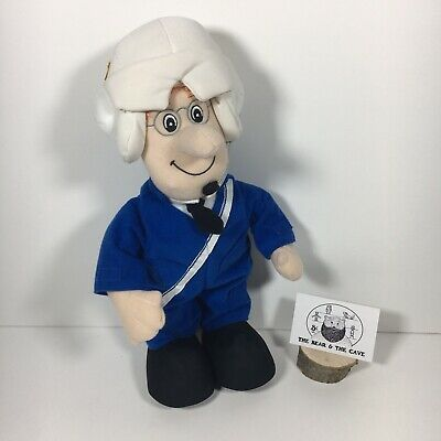 Postman Pat Special Delivery Service Helicopter Pilot Talking Plush Soft Toy • 7.99£
