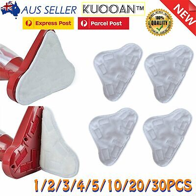 AU11.99 • Buy 1-20PCS Microfibre Pads Steam Mop Floor Washable Replacement Pads For H2O X5