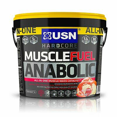 USN Muscle Fuel Anabolic Strawberry - 4kg • 44.99£