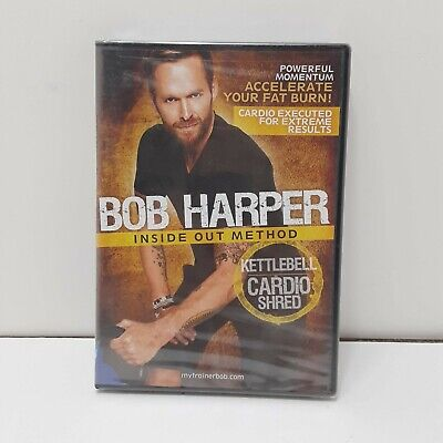Bob Harper: Inside Out Method Kettlebell Cardio Shred DVD • 6.99£