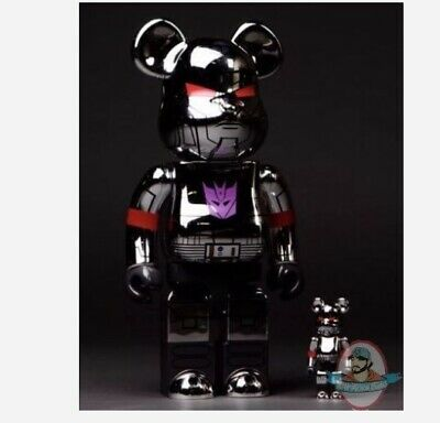 $1449.99 • Buy SDCC 2017 Transformers Bearbrick 400% & 100% Metallic Megatron