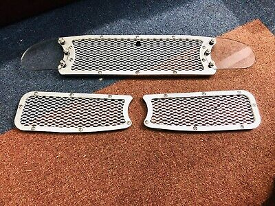$ CDN255.61 • Buy Lotus Elise S1 Alloy Framed Front And Rear Vent Grills