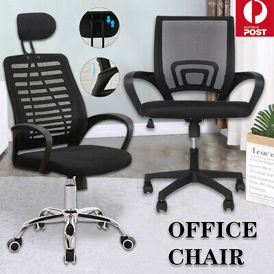 AU75 • Buy Executive Office Chair Ergonomic Gaming Chair Computer Mesh Seat Lift Swivel