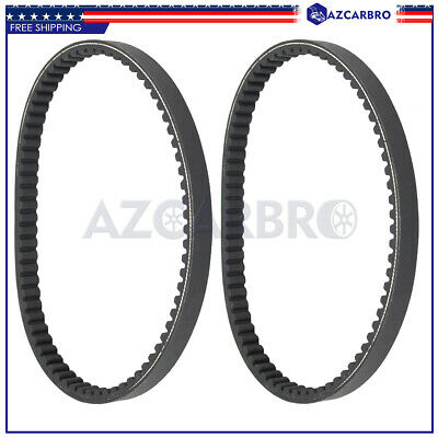 $ CDN21.23 • Buy 2pcs TORQUE CONVERTER COGGED DRIVE BELT For Comet 203591 Manco 7655 Go Kart Cart