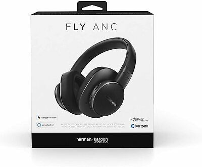 $ CDN117.74 • Buy Harman Kardon Fly Wireless Over-Ear Active Noise Cancelling Headphones - Black