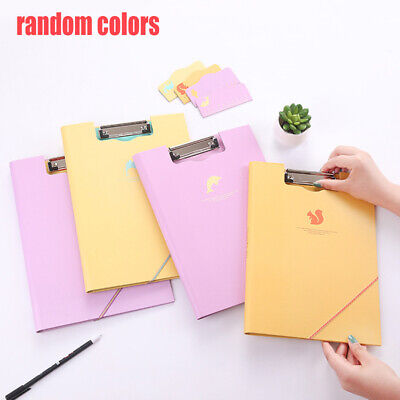 A4 Clipboard Board Clip Fold Writing Holder Office Document Pad Hard Filing Hand • 5.39£