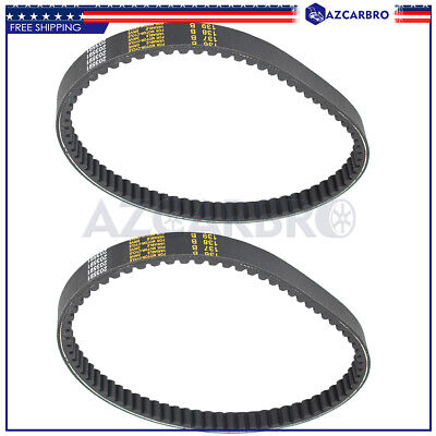 $ CDN21.23 • Buy For Comet 203591 Manco 7655 Go Kart Cart TORQUE CONVERTER COGGED DRIVE BELT 2pcs