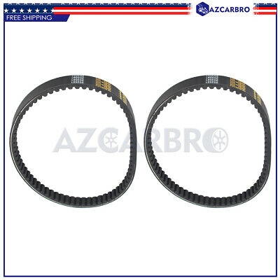 $ CDN21.23 • Buy For Yerf-dog Go Karts Go Cart # BT-002 Q43103W Q430203W Go Kart Drive Belt 2pcs