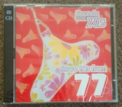 Various - Sounds Of The 70s: More Hits From 1977 (Time Life 2 CD Set, 2000) *New • 37.99£