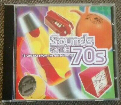 Various - Sounds Of The 70s: 18 Classics From Fab Seventies (Time Life CD, 1999) • 22.79£