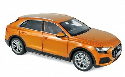 $ CDN142.22 • Buy Norev 188371 Audi Q8 2018 Orange Metallic 1:18 Modellauto