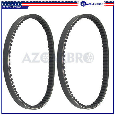 $ CDN21.23 • Buy 2pcs Go Kart Drive Belt For Yerf-dog Go Karts Go Cart # BT-002 Q43103W Q430203W