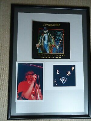 £30 • Buy Marillion Tour Programme 1987 Clutching At Straws+two Photo Images- 3 Rare Gems