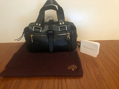 Genuine Mulberry Mabel Black Leather Bag Small Size • 300£