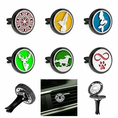 AU2.18 • Buy Hot Alloy Clips For Car Air Freshener Aromatherapy Essential Oil Diffuser Locket