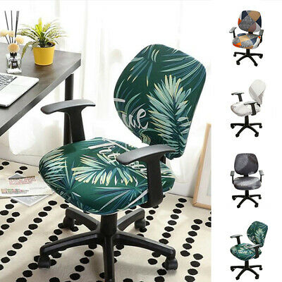 AU7.99 • Buy Office Chair Seat Covers Slipcovers Case Computer Removable Universal Stretch
