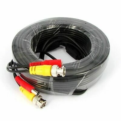 AU8.95 • Buy 5M 20M 50M Video Power BNC Cable CCTV Security Cameras DVR Lead Cord Analogue