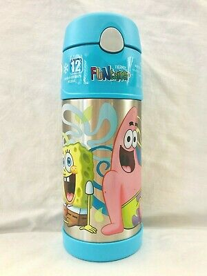 AU14.95 • Buy Thermos FunTainer Drink Bottle - Spongebob (355ml)