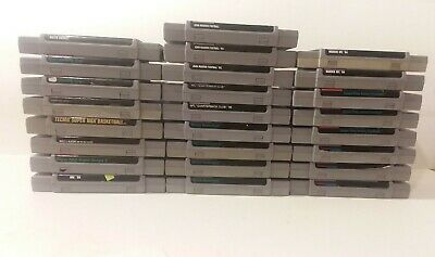 $ CDN85.68 • Buy Super Nintendo Sports Games Lot Of 25 SNES Many Duplicates 14 Unique Games #2