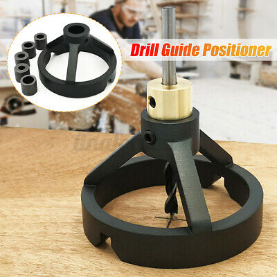 Vertical Drill Guide Positioner Straight Carpentry Hole Puncher Woodworking Tool • 19.77£