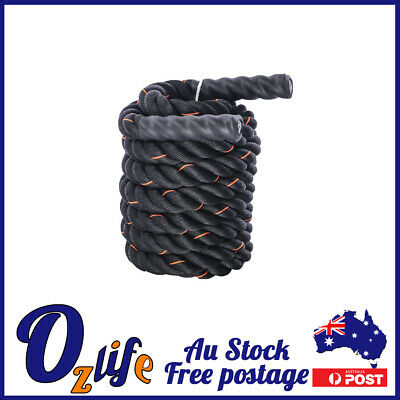 AU68 • Buy Battling Ropes Battle Ropes 9m,12m Strength Training Exercise Home Workout Boxed