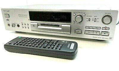 SONY MDS-JB930QS Minidisc MD Recorder / Player With Remote SILVER ** SERVICED ** • 329£