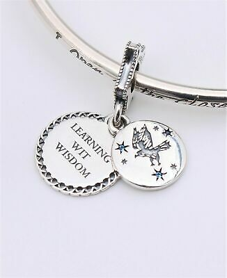 💎🎀 Sterling Silver 925 Ravenclaw Harry Potter Dangle Charm & Gift Pouch • 9.22£