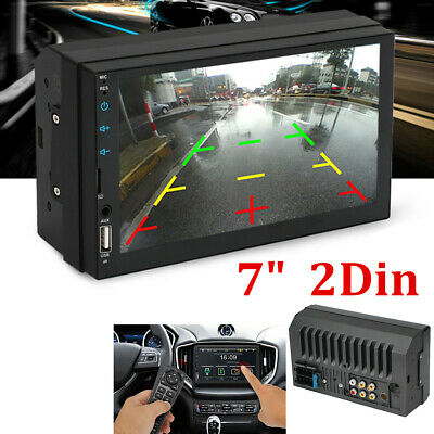 $60.20 • Buy  7  Inch Car Stereo Radio HD Mp5 Player Touch Screen Bluetooth Radio Double 2Din
