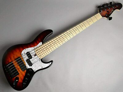 AU7831.93 • Buy New ATELIER Z BOHS CUSTOM6 Fretless (3TS/M MH) Electric Bass Guitar From Japan