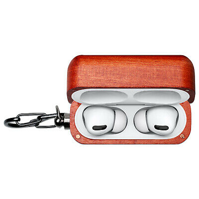 $ CDN19.93 • Buy For AirPods Pro Accessories New Wooden Cover Protective Case Charging Box