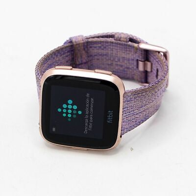 $ CDN144.79 • Buy Fitbit Versa Special Edition Fitness Tracker FB505 - Lavender Woven Band