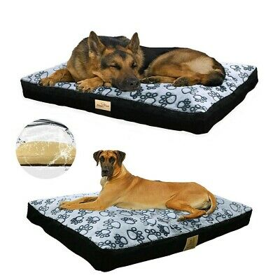 $49.97 • Buy L-XXXL Large Plump Waterproof Dog Bed Comfort Crate Kennel Cushion Mat Non-Slip