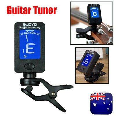 AU12.49 • Buy Chromatic LCD Clip On Tuner Electric Acoustic Guitar Bass Violin, Banjo, Ukulele